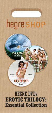 Hegre Shop DVDs: Erotic Trilogy - Essential Collection