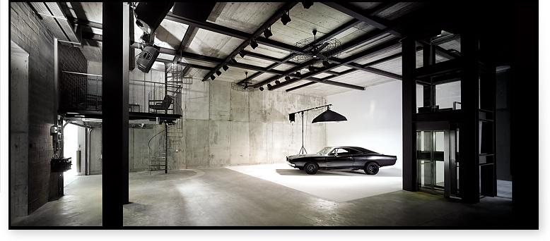 Ein ultramodernes Studio