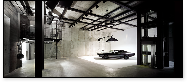 超モダンなスタジオ